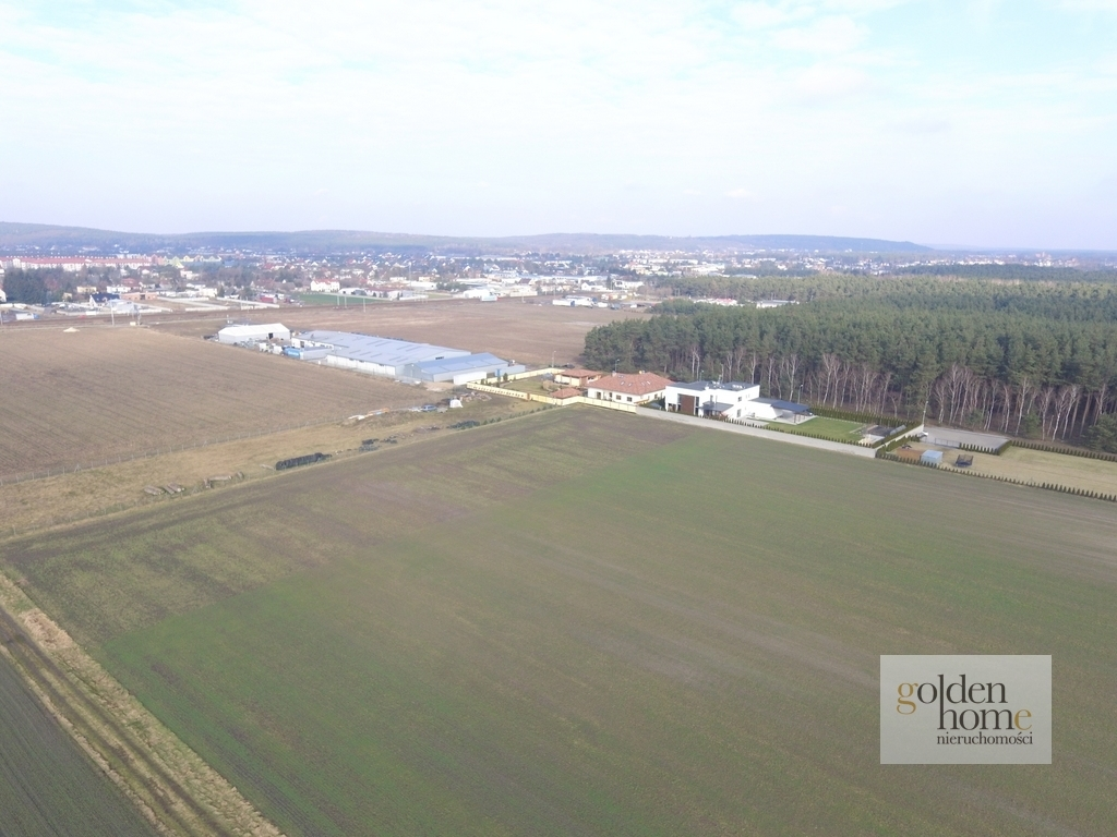 Działka produkcyjno/magazynowa k. Mosiny 1,5 ha